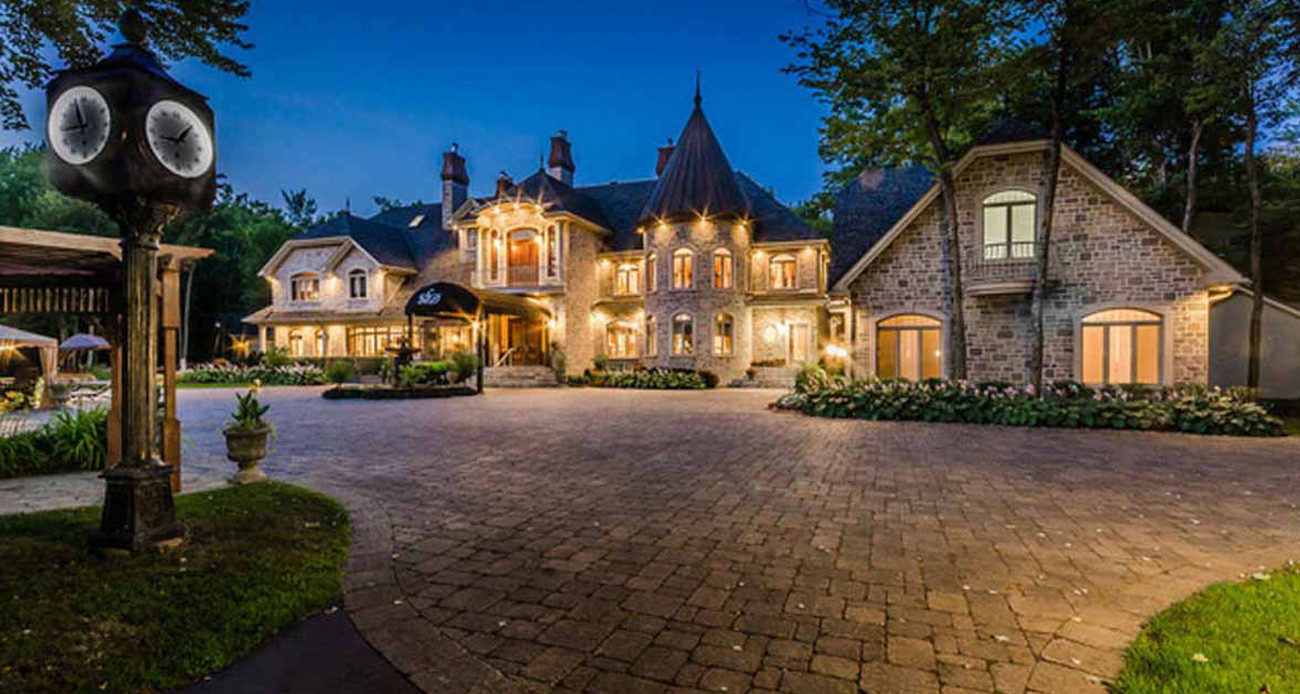 $7.588 Million Newly Built Contemporary Mansion In West